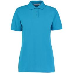 textil Dame Polo-t-shirts m. korte ærmer Kustom Kit Klassic Turquoise