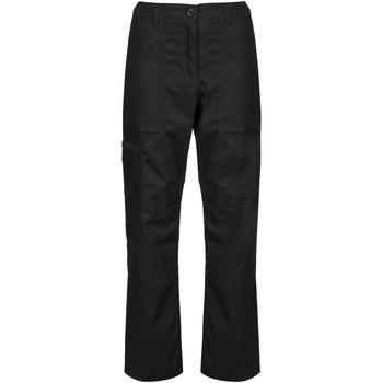 textil Dame Cargo bukser Regatta TRJ334S Black