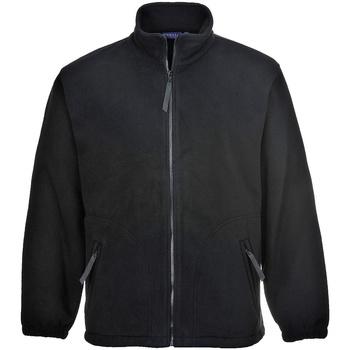 textil Herre Fleecetrøjer Portwest Argyll Black