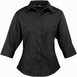 textil Dame Skjorter / Skjortebluser Premier Poplin Black