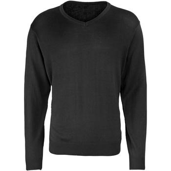 textil Herre Pullovere Premier PR694 Black