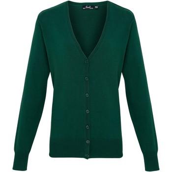 textil Dame Veste / Cardigans Premier Button Through Bottle