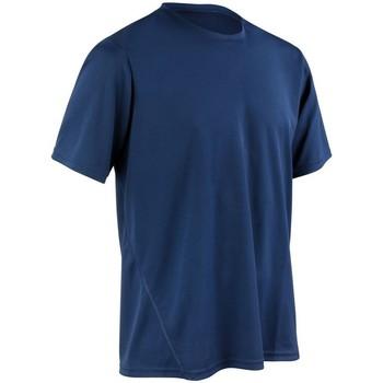 textil Herre T-shirts m. korte ærmer Spiro S253M Navy