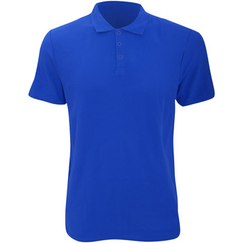 textil Herre Polo-t-shirts m. korte ærmer Anvil 6280 Royal