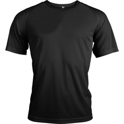textil Herre T-shirts m. korte ærmer Kariban Proact PA438 Black