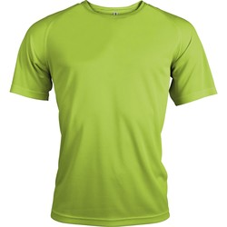 textil Herre T-shirts m. korte ærmer Kariban Proact PA438 Lime
