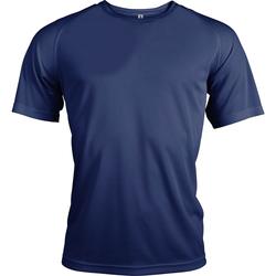 textil Herre T-shirts m. korte ærmer Kariban Proact PA438 Navy