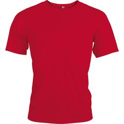 textil Herre T-shirts m. korte ærmer Kariban Proact PA438 Red
