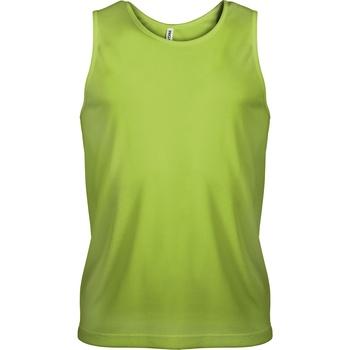 textil Herre Toppe / T-shirts uden ærmer Kariban Proact PA441 Lime