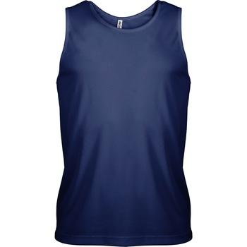 textil Herre Toppe / T-shirts uden ærmer Kariban Proact PA441 Navy