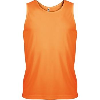 textil Herre Toppe / T-shirts uden ærmer Kariban Proact PA441 Orange