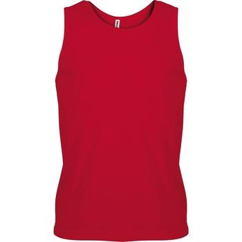 textil Herre Toppe / T-shirts uden ærmer Kariban Proact PA441 Red