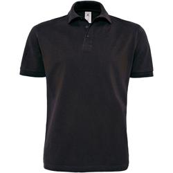 textil Herre Polo-t-shirts m. korte ærmer B And C PU422 Black
