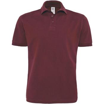 textil Herre Polo-t-shirts m. korte ærmer B And C PU422 Burgundy