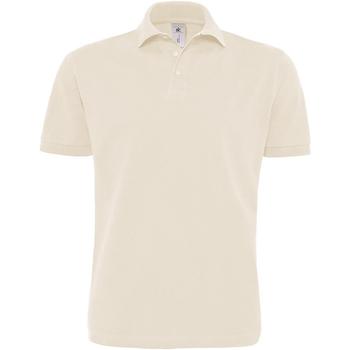 textil Herre Polo-t-shirts m. korte ærmer B And C PU422 Natural