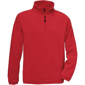 textil Herre Fleecetrøjer B And C Highlander Red