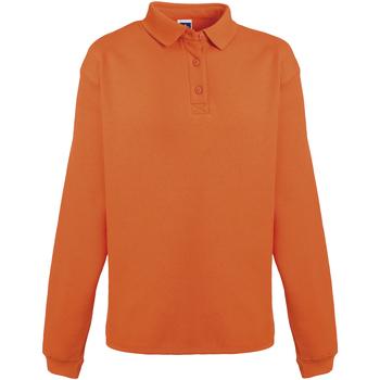 textil Herre Sweatshirts Russell Heavy Duty Orange