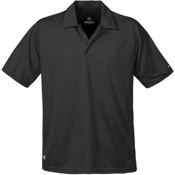 textil Herre Polo-t-shirts m. korte ærmer Stormtech ST669 Black