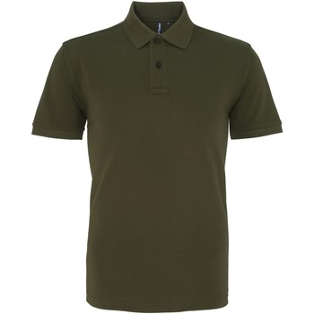 textil Herre Polo-t-shirts m. korte ærmer Asquith & Fox AQ010 Olive