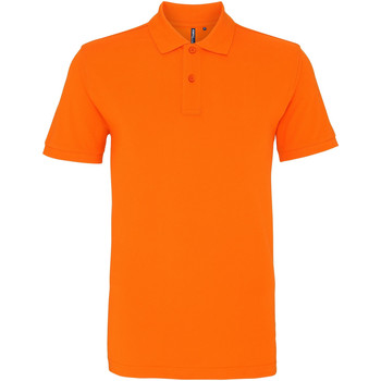 textil Herre Polo-t-shirts m. korte ærmer Asquith & Fox AQ010 Orange