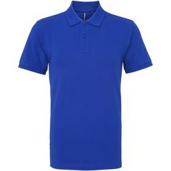textil Herre Polo-t-shirts m. korte ærmer Asquith & Fox AQ010 Royal