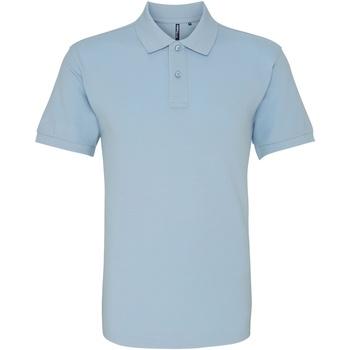 textil Herre Polo-t-shirts m. korte ærmer Asquith & Fox AQ010 Sky