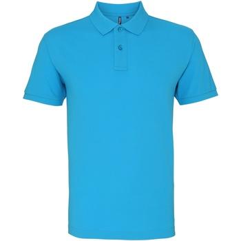 textil Herre Polo-t-shirts m. korte ærmer Asquith & Fox AQ010 Turquoise