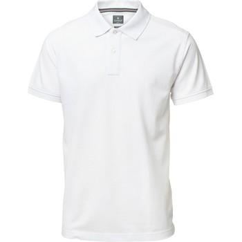 textil Herre Polo-t-shirts m. korte ærmer Nimbus NB37M White