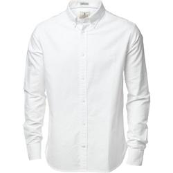 textil Herre Skjorter m. lange ærmer Nimbus NB45M White
