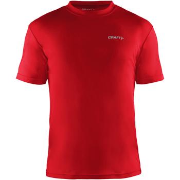 textil Herre T-shirts m. korte ærmer Craft CT086 Red