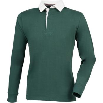 textil Herre Polo-t-shirts m. lange ærmer Front Row FR104 Bottle