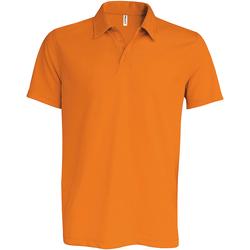 textil Herre Polo-t-shirts m. korte ærmer Kariban Proact PA482 Orange
