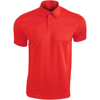 textil Herre Polo-t-shirts m. korte ærmer Kariban Proact PA482 Red