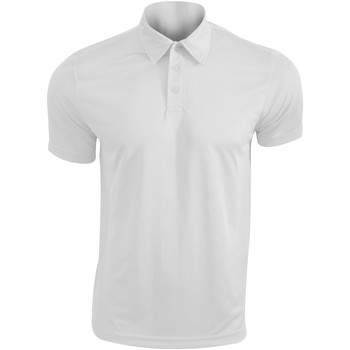 textil Herre Polo-t-shirts m. korte ærmer Kariban Proact PA482 White