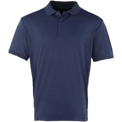 textil Herre Polo-t-shirts m. korte ærmer Premier PR615 Navy