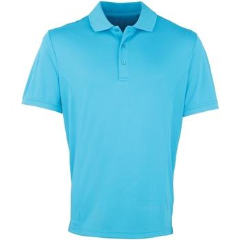 textil Herre Polo-t-shirts m. korte ærmer Premier PR615 Turquoise