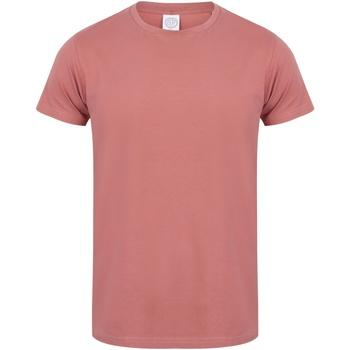 textil Herre T-shirts m. korte ærmer Skinni Fit SF121 Clay