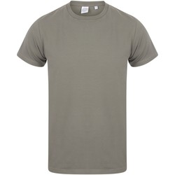 textil Herre T-shirts m. korte ærmer Skinni Fit SF121 Khaki