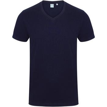 textil Herre T-shirts m. korte ærmer Skinni Fit SF122 Navy