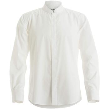 textil Herre Skjorter m. lange ærmer Kustom Kit KK161 White