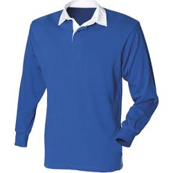 textil Herre Polo-t-shirts m. lange ærmer Front Row Rugby Royal