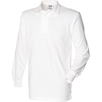 textil Herre Polo-t-shirts m. lange ærmer Front Row Rugby White