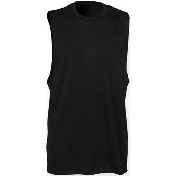 textil Herre Toppe / T-shirts uden ærmer Skinni Fit SF232 Black