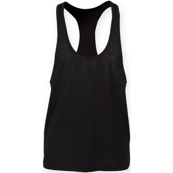 textil Herre Toppe / T-shirts uden ærmer Skinni Fit SF236 Black