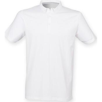 textil Herre Polo-t-shirts m. korte ærmer Skinni Fit SF440 White