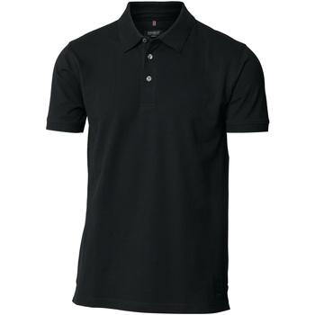 textil Herre Polo-t-shirts m. korte ærmer Nimbus NB52M Black