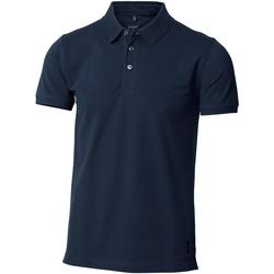 textil Herre Polo-t-shirts m. korte ærmer Nimbus NB52M Navy