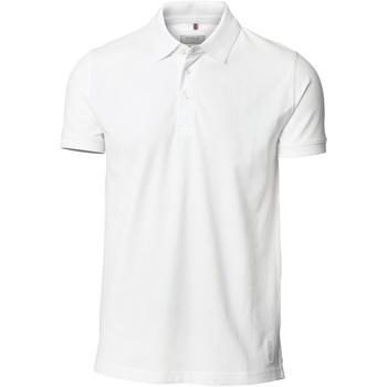 textil Herre Polo-t-shirts m. korte ærmer Nimbus NB52M White