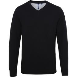 textil Herre Pullovere Asquith & Fox AQ042 Black