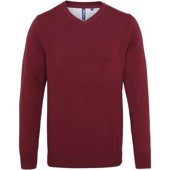 textil Herre Pullovere Asquith & Fox AQ042 Burgundy